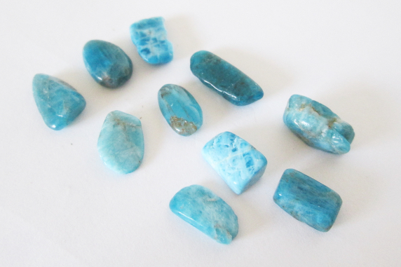 Apatite Nuggets and Flats Lot 25.50cts