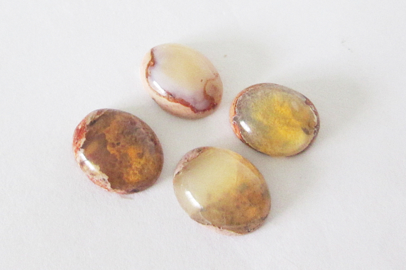 Mexican Cantera Opal 10x8mm Oval Cabochon Lot 6.70cts