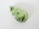 African Prehnite Pear Cabochon 50.00cts