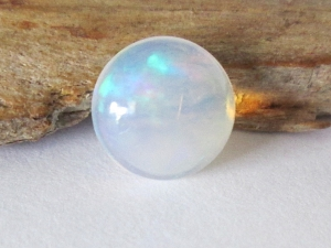 Ethiopian Opal 7mm Round Cabochon 1.00ct