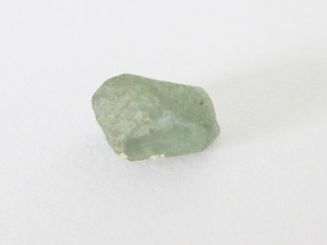 Green Montana sapphire rough solitaire 1.80cts