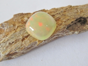 Ethiopian Precious Opal 9mm Cushion Cut Cabochon 2.10cts